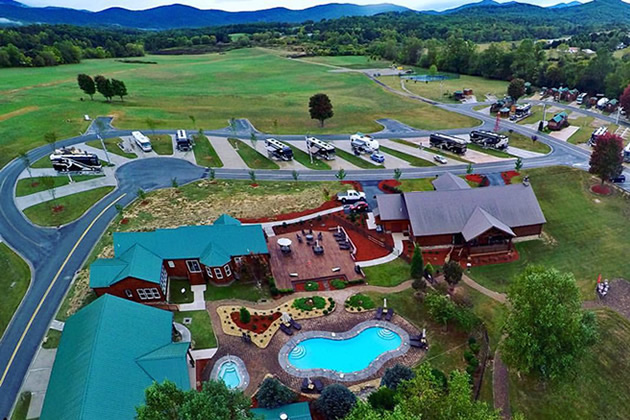 Blue Mountains Georgia RV Resort | Lots for Sale | Big Rig
