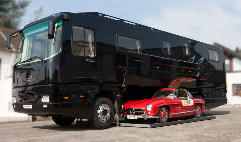 10 Coolest CarCarrying Motorhomes
