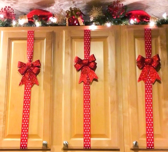 giftwrap cabinets for christmas