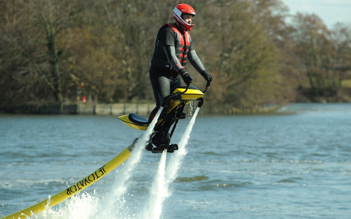 jet powered water bike