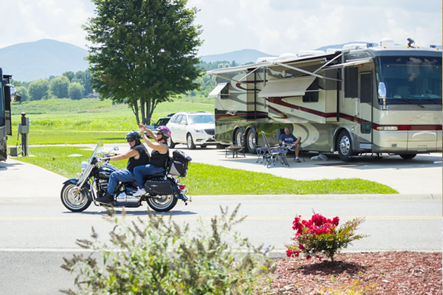Georgia Mountain RV Lots For Sale | Crossing Creeks RV Resort and Spa
