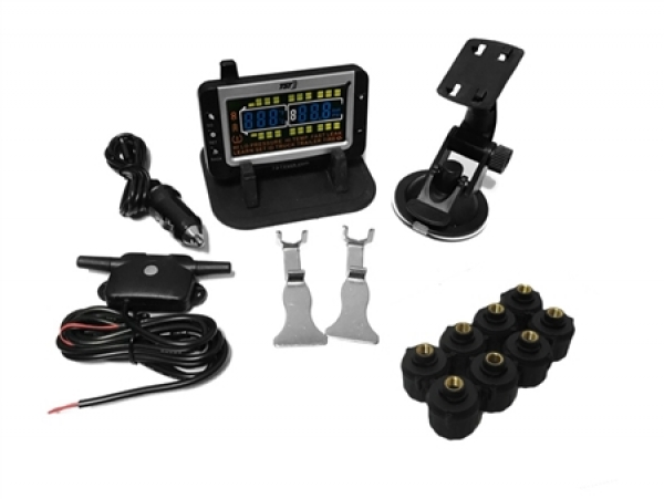 Adding TPMS to RV, Tow Vehicle Boosts Safety