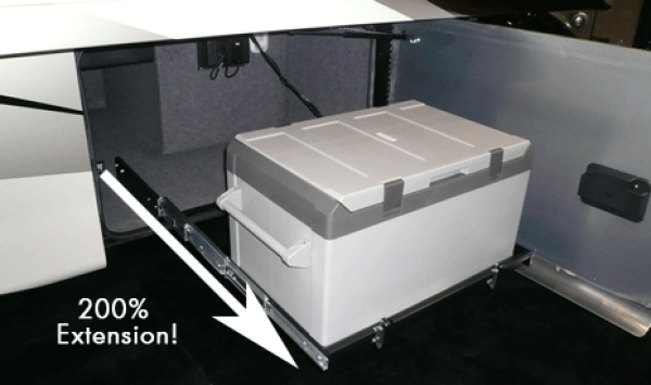 Sliding Cargo Trays Offer Versatility, Access